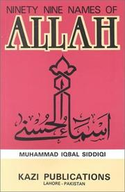 Ninety-Nine Names of Allah PDF