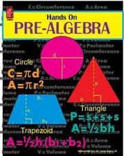 Hands On Pre-Algebra PDF