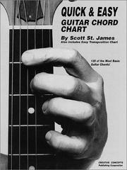 Quick and Easy Guitar Chord Chart PDF