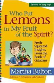Who Put Lemons in My Fruit of the Spirit? PDF