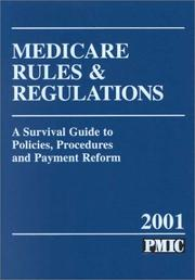 Medicare Rules and Regulations, 2001 PDF