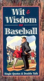 Wit and Wisdom of Baseball PDF