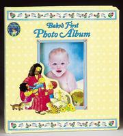 Baby'S First Photo Album PDF
