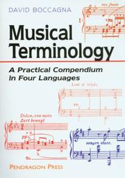 Musical Terminology PDF