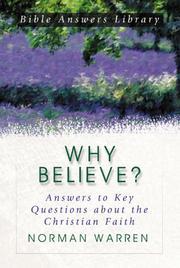 Why Believe? PDF