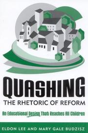 Quashing the rhetoric of reform by Eldon Lee