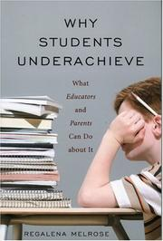 Why Students Underachieve PDF