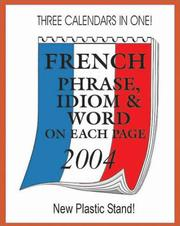 2004 French Phrase, Idiom & Word Calendar PDF