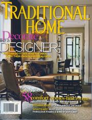 Traditional Home, October 2006 Issue PDF