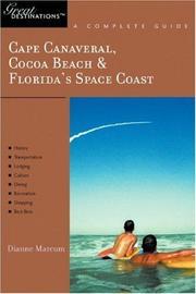 Cape Canaveral, Cocoa Beach & Florida's Space Coast: Great Destinations PDF