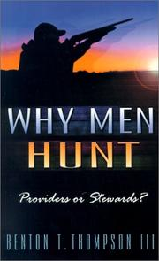 Why Men Hunt PDF