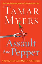 Assault and pepper by Tamar Myers