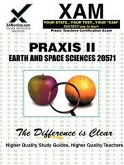 Praxis Earth & Space Sciences 20571 PDF