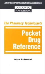 The Pharmacy Technician's Pocket Drug Reference PDF