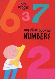 My First Book of Numbers by Kim Deegan