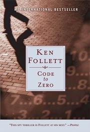 Cover of: Code to Zero by Ken Follett