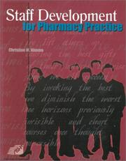 Staff Development for Pharmacy Practice PDF