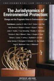The Jurisdynamics of Environmental Protection PDF