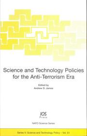 Science and Technology Policies for the Anti-Terrorism Era PDF