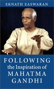 Following the Inspiration of Mahatma Gandhi PDF