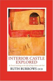 Interior castle explored by Ruth Burrows