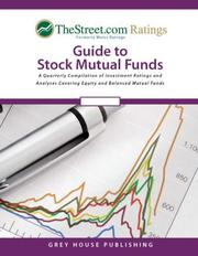 Weiss Ratings' Guide to Stock Mutual Funds PDF