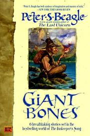 Cover of: Giant bones by Peter S. Beagle, Peter S. Beagle