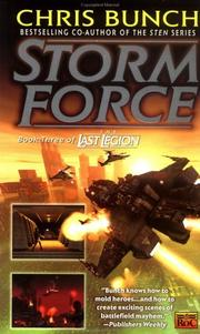 Cover of: Storm Force (The Last Legion, Book 3) by Chris Bunch