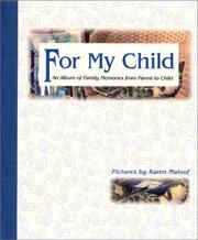 For My Child PDF