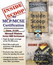 InsideScoop to MCP/MCSE Exam 70-290 Windows Server 2003 Certification PDF