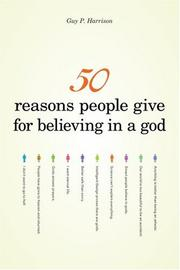 50 Reasons People Give for Believing in a God PDF