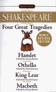 Four Great Tragedies by William Shakespeare
