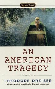 Cover of: An American tragedy by Theodore Dreiser