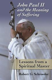 John Paul II and the Meaning of Suffering PDF