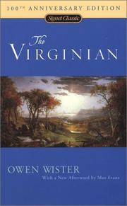 Cover of: The Virginian by Owen Wister