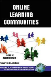 Online Learning Communities (HC) (Perspectives in Instructional Technology and Distance Education) PDF