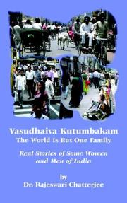 Vasudhaiva Kutumbakam: The Whole World Is but One Family PDF