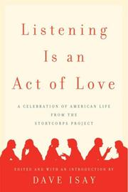 Listening Is an Act of Love PDF