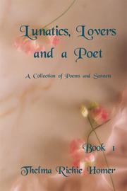 Lunatics, Lovers and a Poet, Book 1 PDF