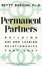 Cover of: Permanent Partners by Betty Berzon