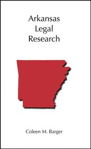 Arkansas Legal Research PDF