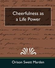 Cheerfulness as a Life Power PDF