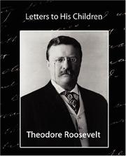 Cover of: Letters to His Children by Theodore Roosevelt