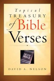 Topical Treasury of Bible Verses PDF