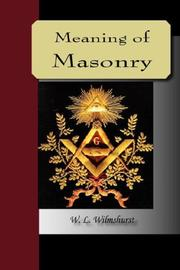 The Meaning of Masonry PDF