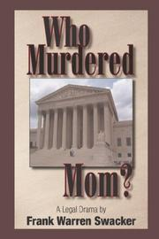 Who Murdered Mom PDF