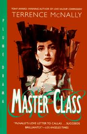 Master class by Terrence McNally