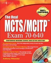 The Real MCTS/MCITP  Exam 70-640 Prep Kit PDF
