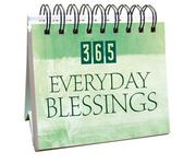 365 Everyday Blessings (365 Days Perpetual Calendars)
