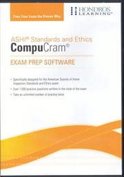 American Society of Home Inspectors (ASHI) CompuCram Exam Prep Software PDF